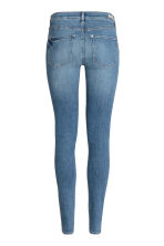 Shaping Skinny Regular Jeans - Denim blue/Worn - Ladies | H&M CN 4